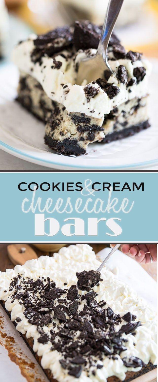 99+ cookies cream cheesecake bars eviltwin