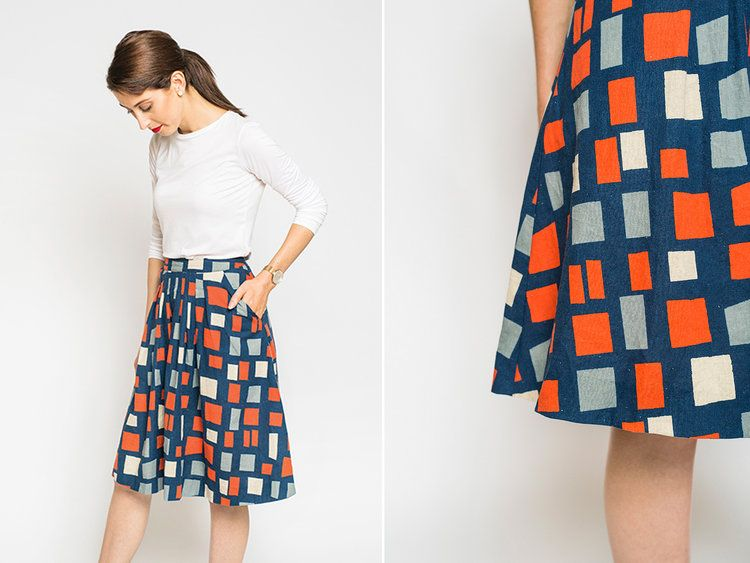 New pattern in collaboration with Peppermint Magazine : The pleated ...