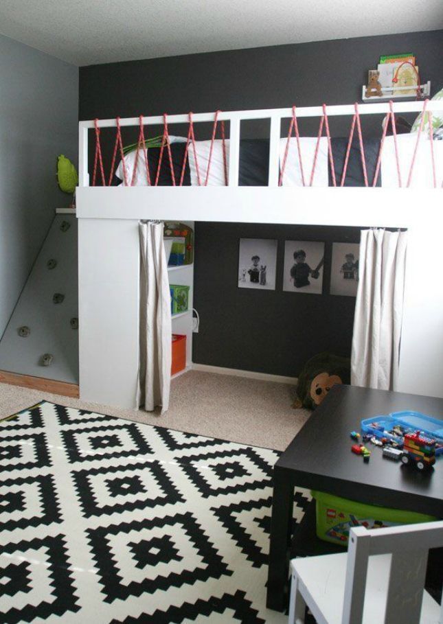 40 Loft Beds To Make Your Small Space Feel Bigger Boy Bedroom Enchanting Children Bedroom Ideas Small Spaces Plans