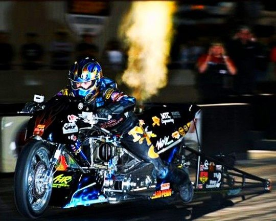Korry Hogan Top Fuel Drag Bike Racer Sponsored By Www Portable