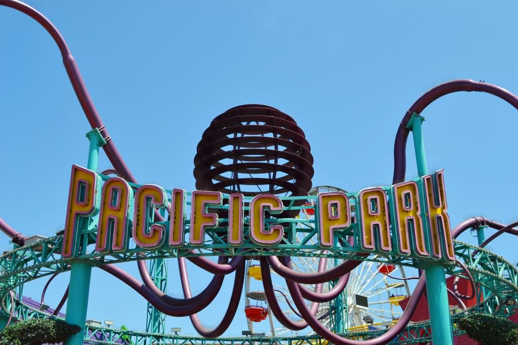 Pacific Park - Santa Monica Pier | girls' trip to California | Hey, Hollywood blog