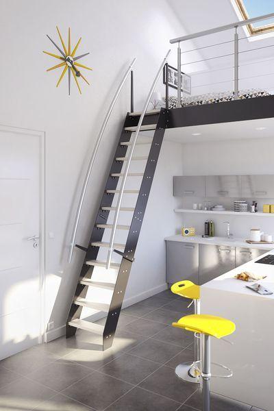 Escalier Gain De Place Venise En Inox Lapeyre Escalier Gain De Place Idees Escalier Chambre Loft