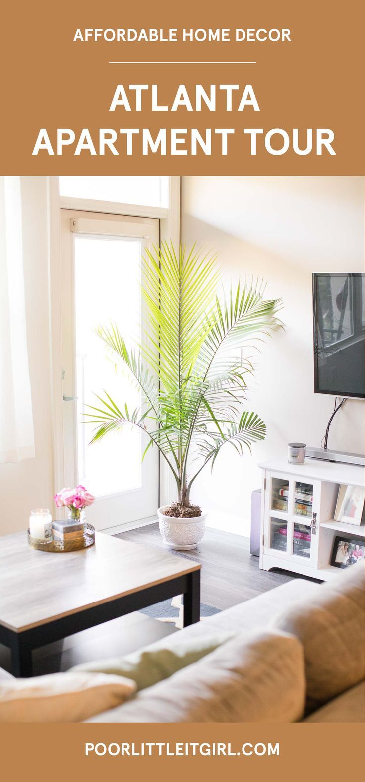 Atlanta Apartment Tour Affordable Home Decor