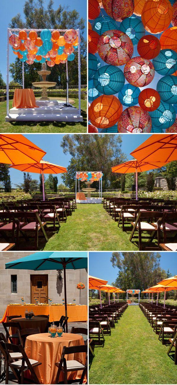 teal and orange fun wedding colors pinterest wedding