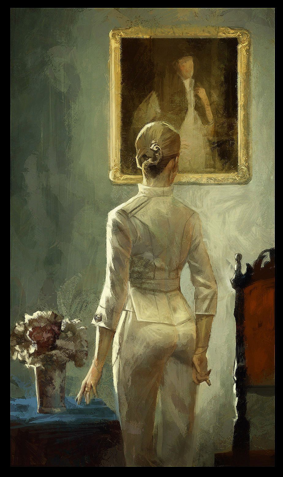 """Sokolov Painting - """"The Obtuse Arguments of Lady Boyle"""""""
