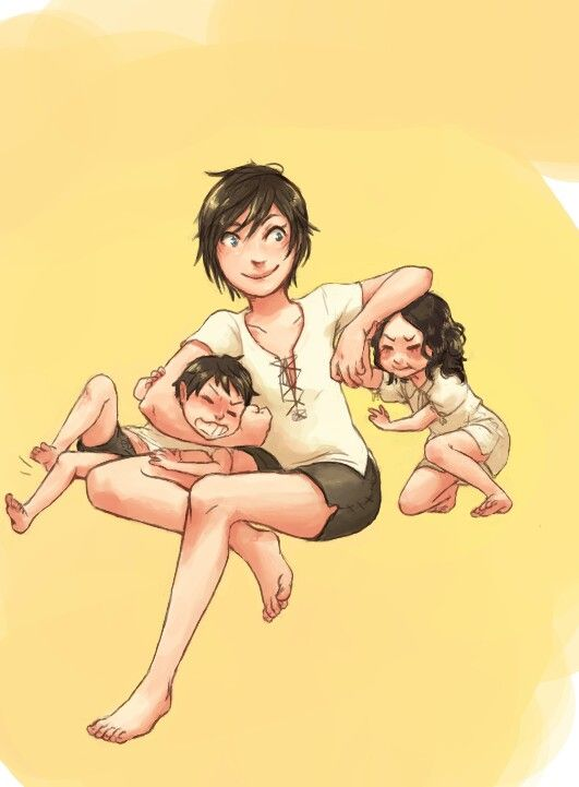 So cute little bby Hawkes! Carver, Marian and Bethany