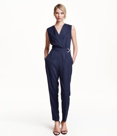 17feb354f37d Textured jumpsuit