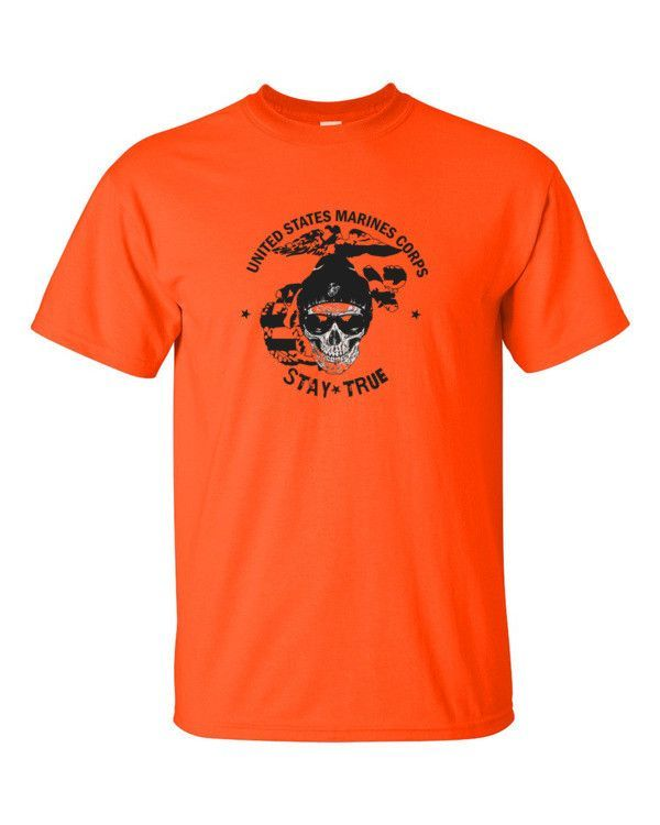Stay True USMC Eagle Globe and Anchor - Short sleeve t-shirt