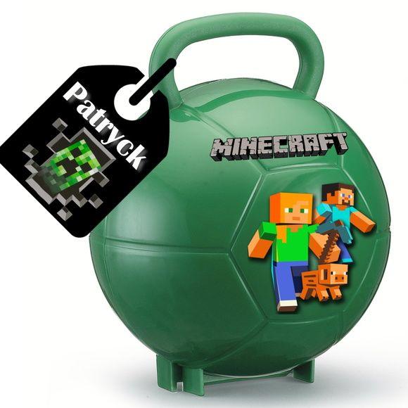 Maleta Bola Minecraft