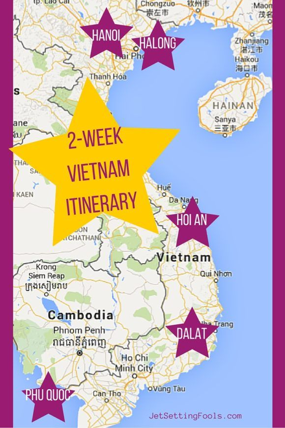 2-Week Vietnam Itinerary   Vietnam   Vietnam travel, Laos vietnam