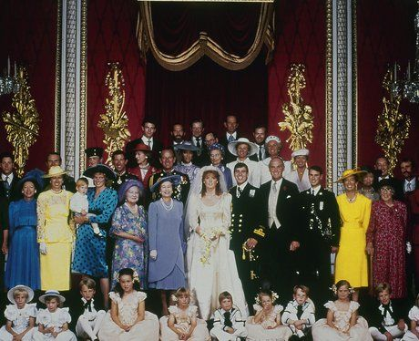 1986: Prince Andrew and Sarah Ferguson    Prince Andrew and Sarah Ferguson tied the knot on 23rd July 1986. Happy family!