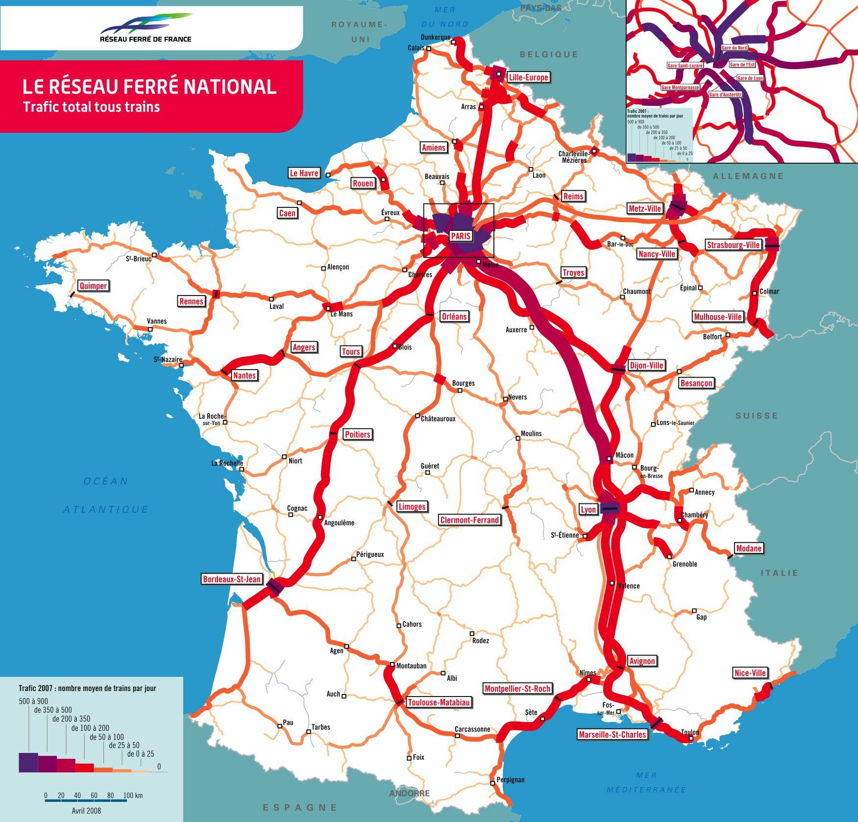 SNCF TGV | Cartography, Map design, Historical maps