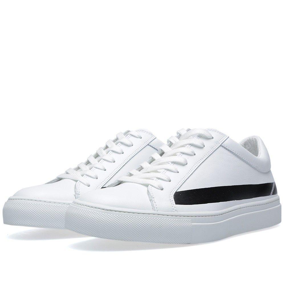 Comme des Garçons SHIRT x Erik Schedin Stripe Print Sneaker