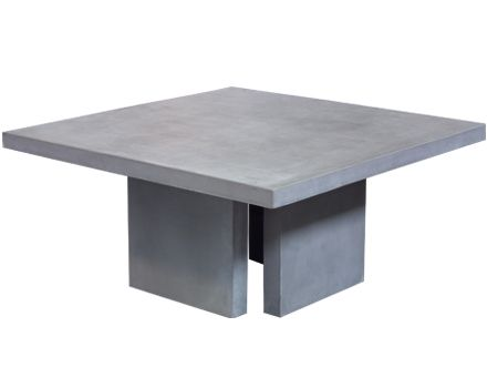 Teak Warehouse Manufacturers Raw Concrete Dining Table