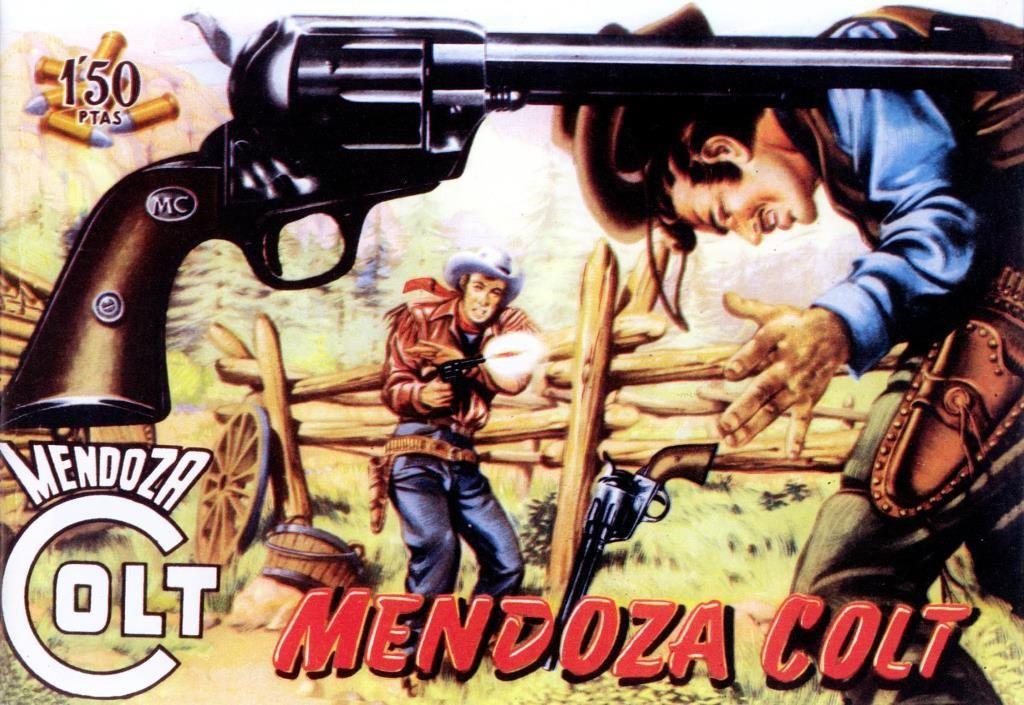 Mendoza Colt. Colección de 120 números publicados por Ediciones Rollan entre 1956-1961