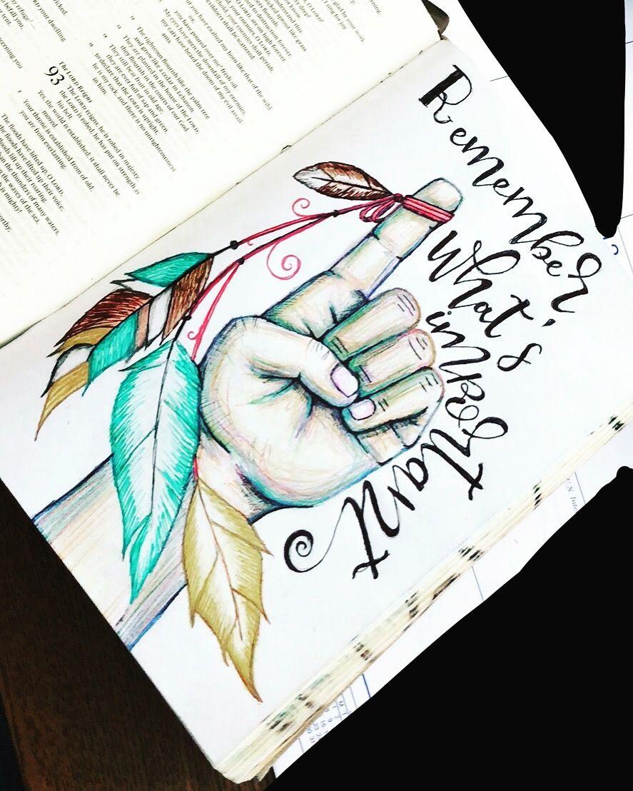 Psalm 91 Journal Art