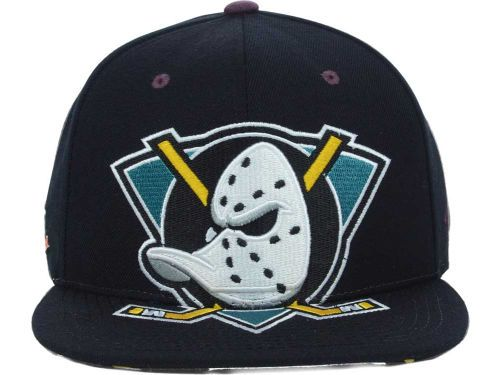 Anaheim Ducks Zephyr NHL Menace Snapback Cap Hats d36e688c9b38