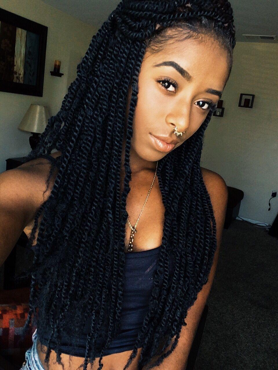 Marley twists braids twists locs pinterest marley - Crochet braids twist ...
