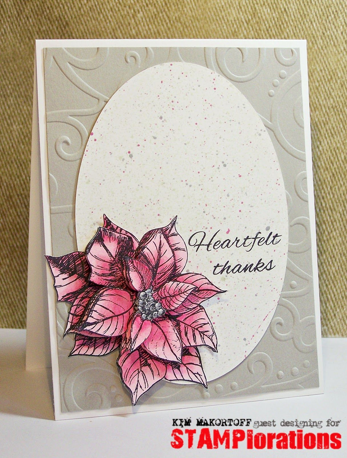 Guest designer kim creates a post holiday thank you card using the guest designer kim creates a post holiday thank you card using the old school paper m4hsunfo