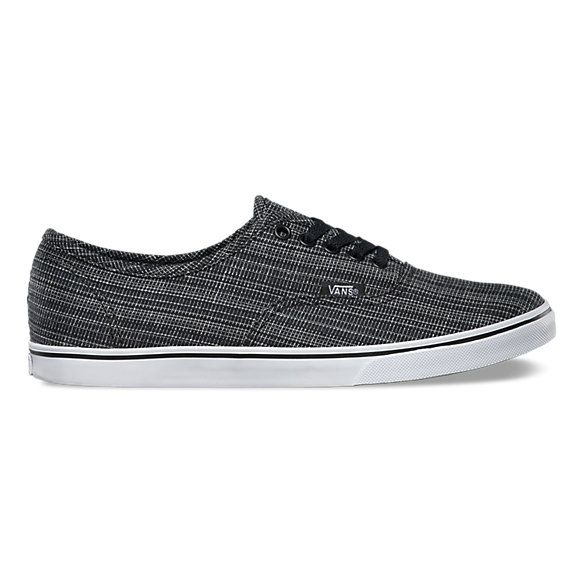 Woven Chambray Authentic Lo Pro | Shop Womens Shoes at Vans