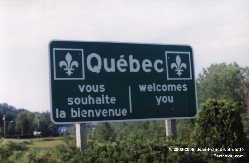 Bienvenue A Quebec Welcome To Quebec Montreal Est La Ville La