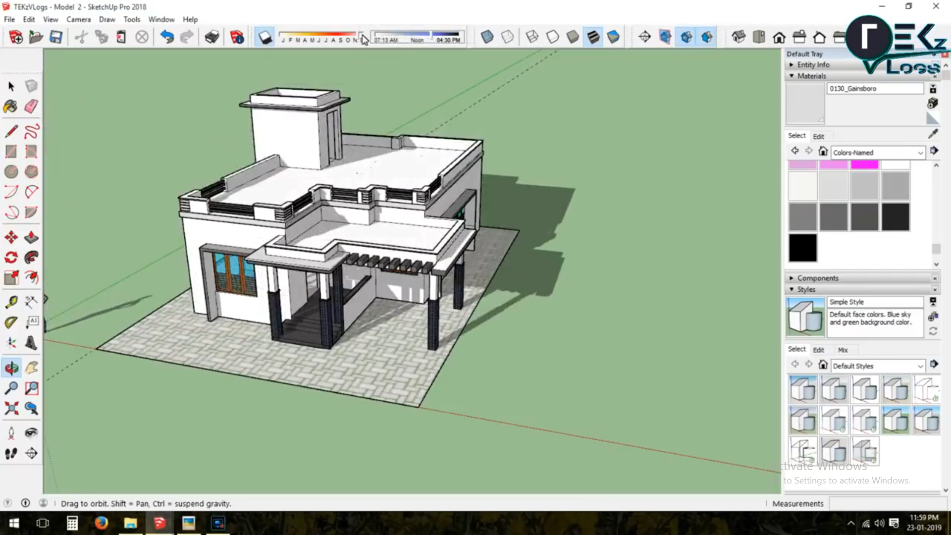 Pin By Rising Star On Sketchup 3d Designing House Design Design