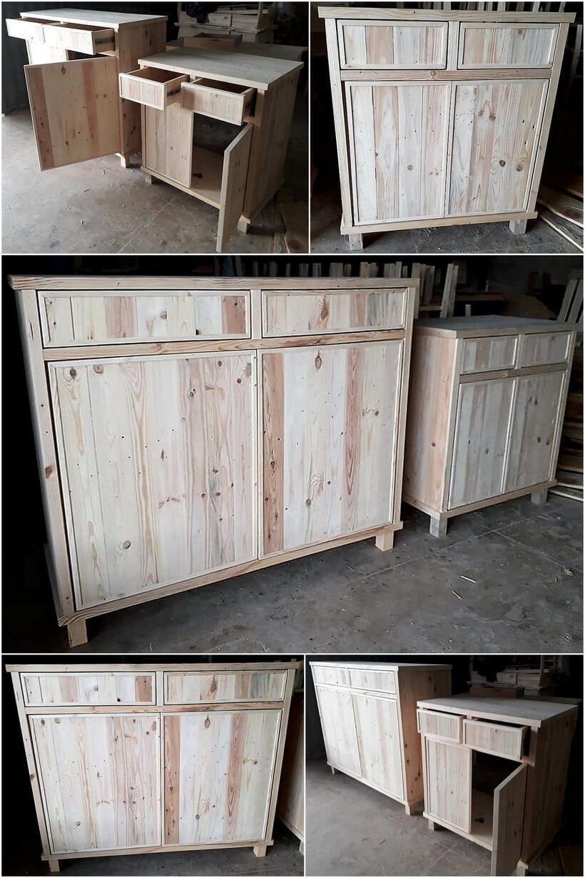 Creative Projects Made with Recycled Used Wood Pallets ...