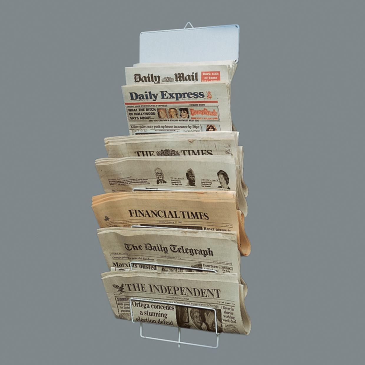 wire newspaper rack  holds  newspapers  home ideas  pinterest  - wire newspaper rack  holds  newspapers