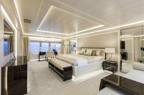 Inneneinrichtung Schlafzimmer indirekte beleuchtung zum erhellen dunkler räume indirekte