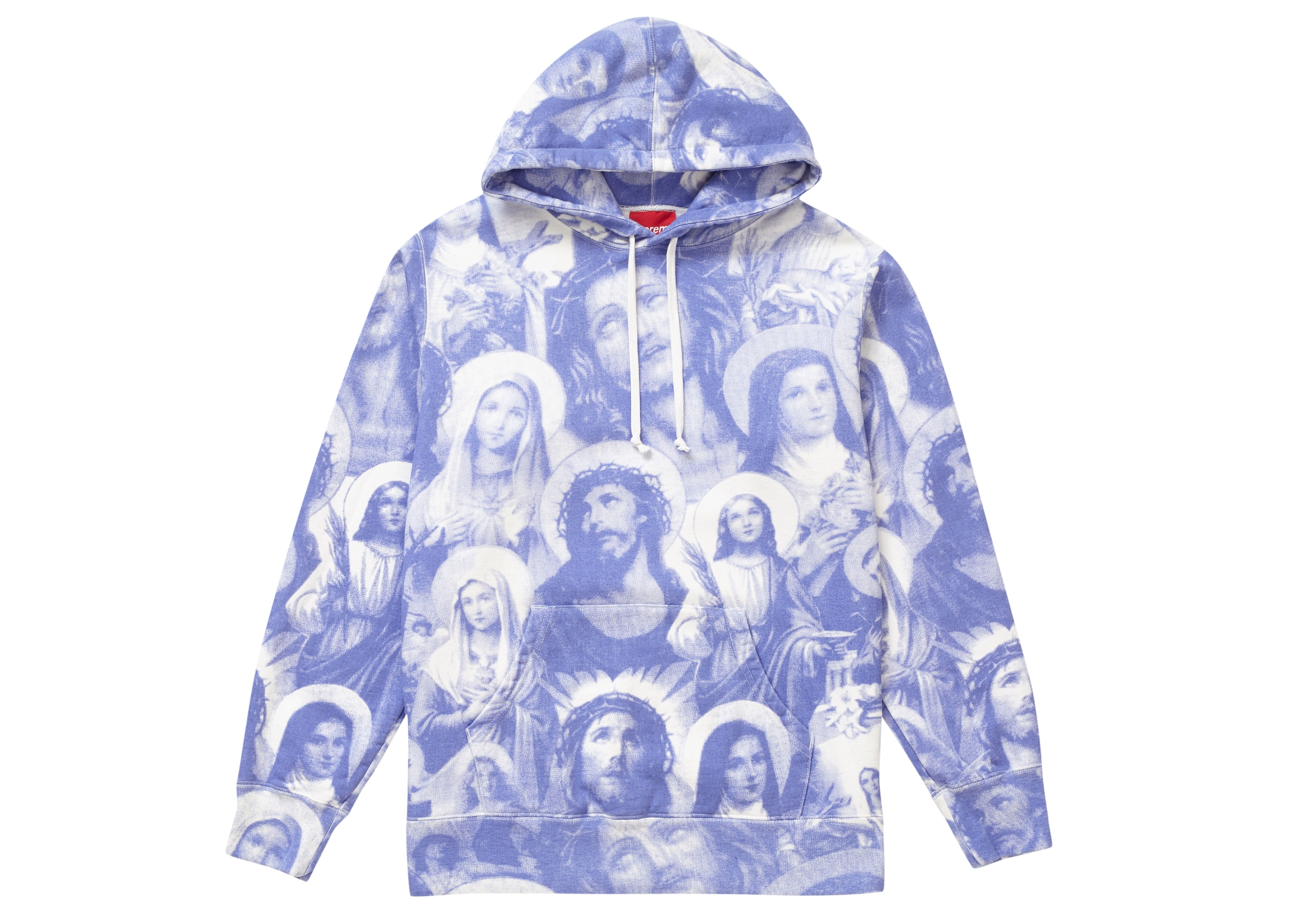 Check Out The Supreme Jesus And Mary Hooded Sweatshirt Purple Available On Stockx Supreme Sweatshirt Hoodies For Sale Hoodies [ 3188 x 4463 Pixel ]