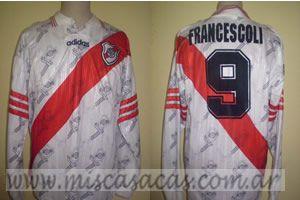 Casacas de River Plate francescoli 1996