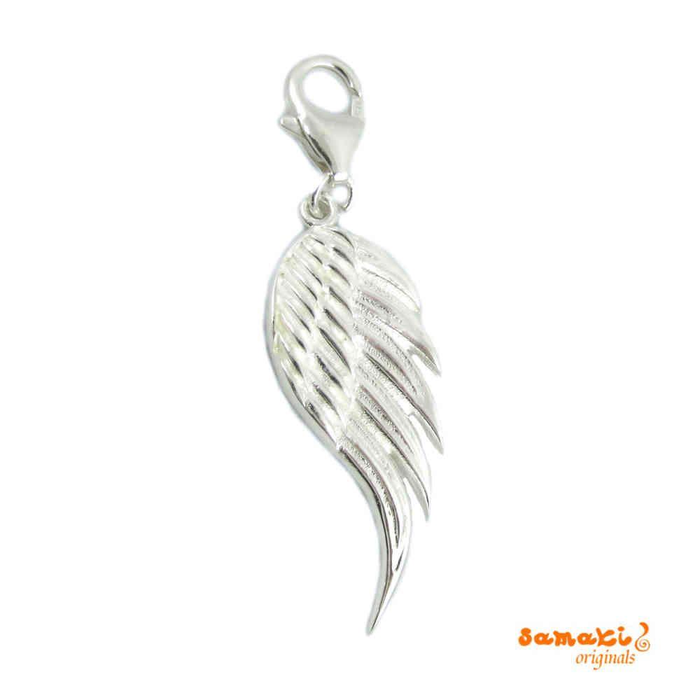 NEU: #Engel #Flügel #Charm, #Engelsrufer Zubehör mit #Karabiner, online zu bestellen bei www.samakishop.com  http://www.samakishop.com/epages/61220405.sf/de_DE/?ObjectPath=/Shops/61220405/Products/AH13