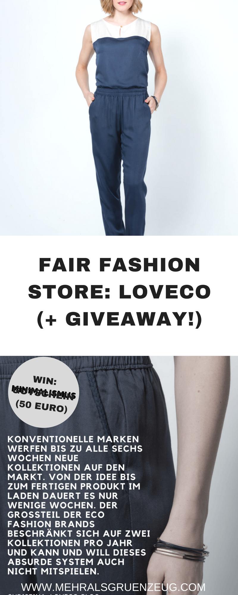 fair-fashion-quelle: loveco (+ giveaway!) | mehr als