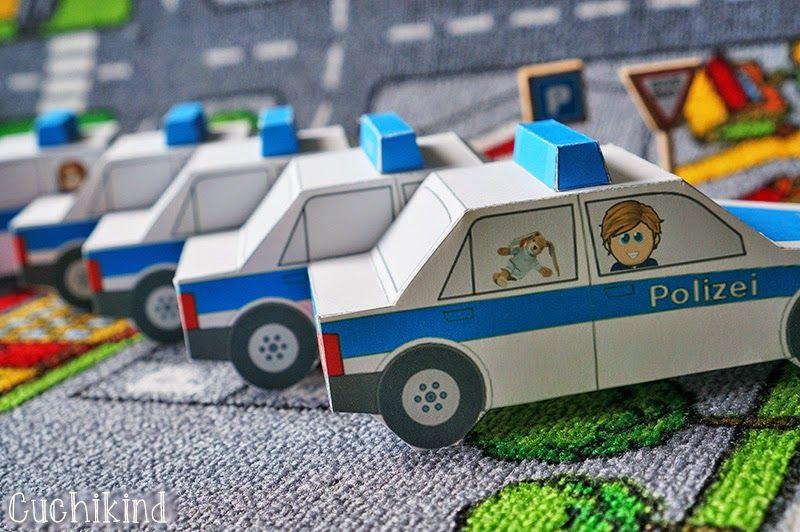 Einladungen Zum Polizei Geburtstag (Freebie) | Cuchikind    DIY Kids Lifestyle