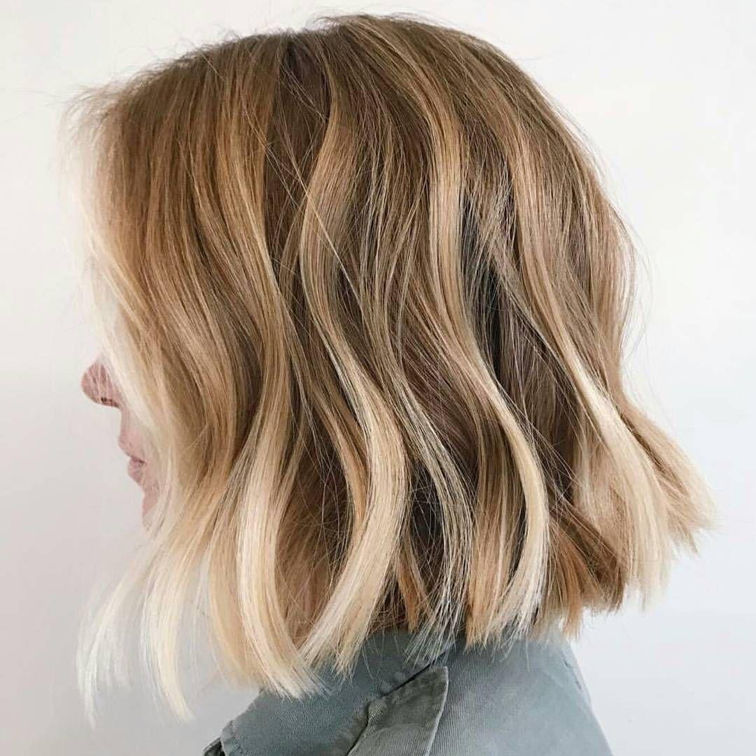 Wavy Lob Frisuren – Farbe & Styling Trends Jetzt! #Farbe