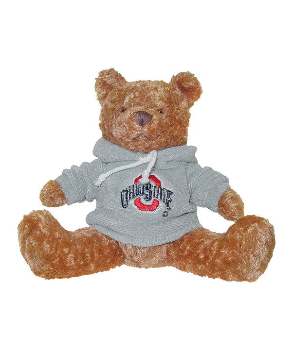 Look at this #zulilyfind! Ohio State Buckeyes Hoodie Bear Plush Toy by Hunter #zulilyfinds