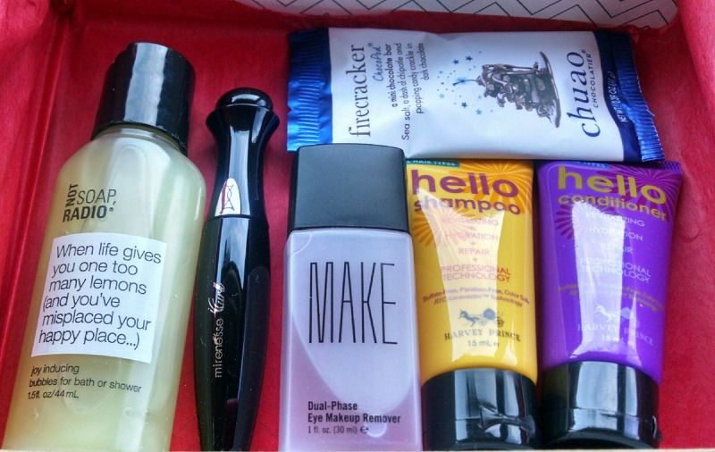 This was another exciting month of special curations and sample choices over at Birchbox. The November special edition box was a collaboration with BuzzFeedLife. As I had already received a few of these items, I opted for the shaRED box.