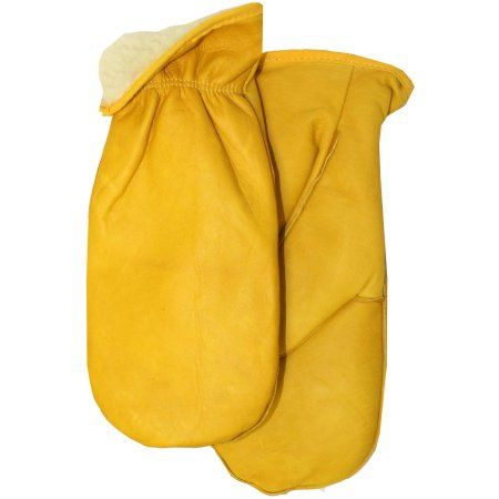 Midwest Glove 9200PL-9 Large Pile Lined Leather Chopper Mitt, Multicolor