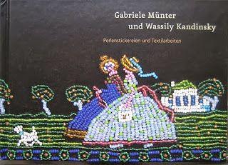 Werkstatt für historische Stickmuster: Murnau - Kandinsky entwirft + Münter stickt