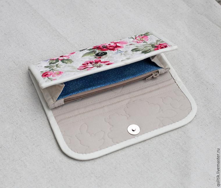 948a2b110edd0 Мастер-класс: шьем текстильный кошелек - Ярмарка Мастеров - ручная работа,  handmade