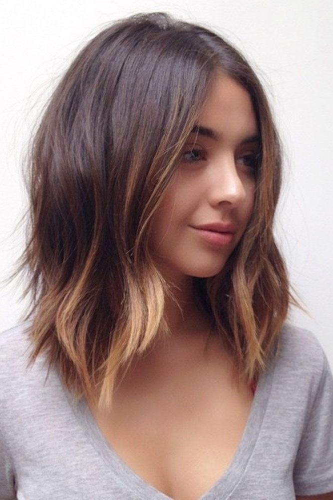 20 Haircuts for Women Shoulder Length in 2019 -   12 hairstyles For Girls shoulder length ideas
