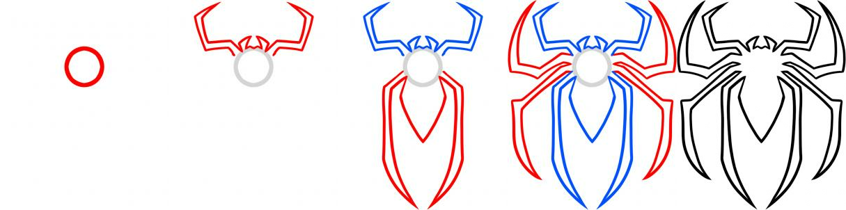 How To Draw Spiderman You Can View The Original Tutorial Here How