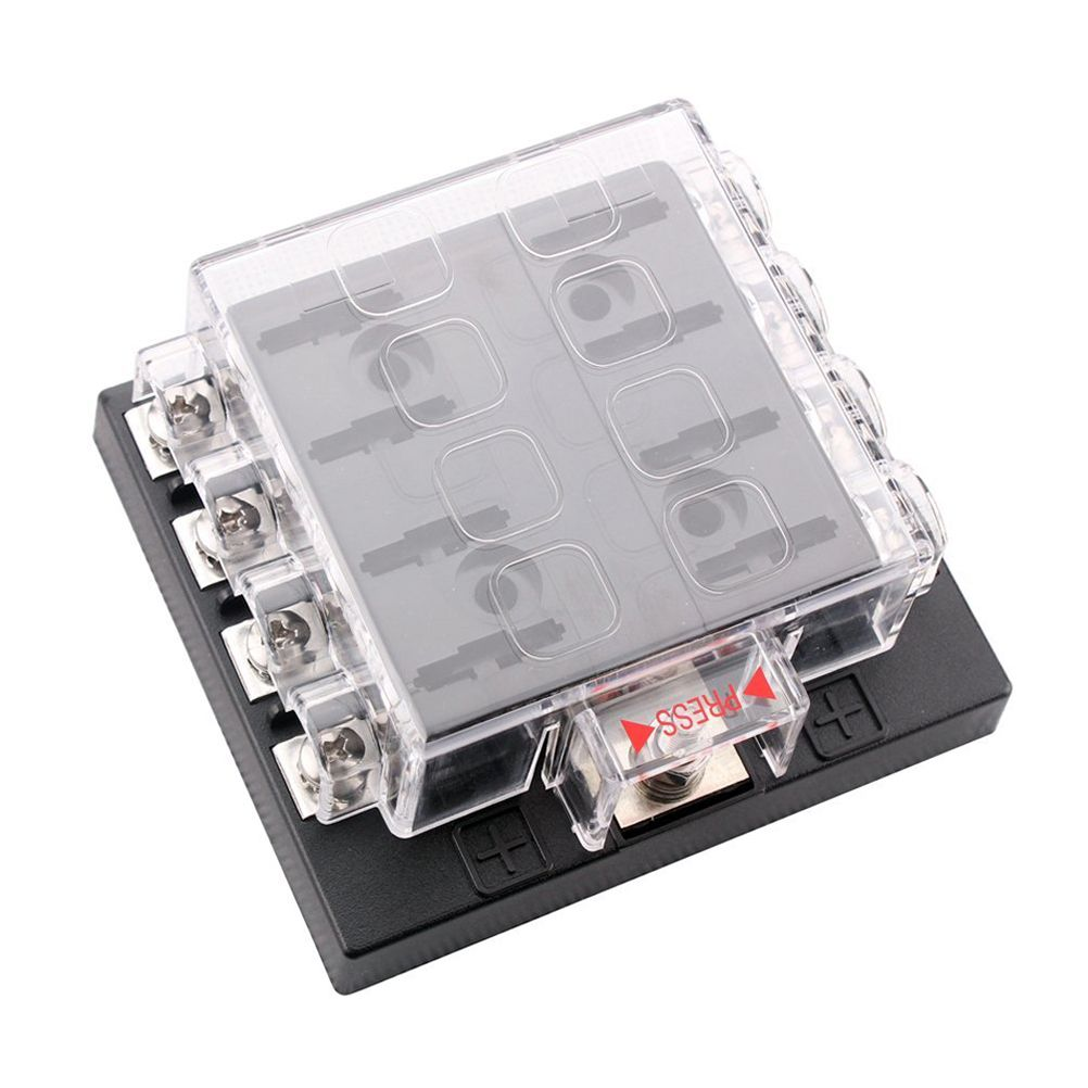 Find More Fuses Information about Portable DC 32V 8 Way Circuit Car  Automotive ATC ATO Blade Fuse Box Fuse Holder,High Quality box  registration,China box ...