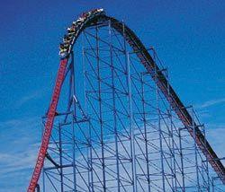 Superman Ride Of Steel Six Flags America Six Flags America Roller Coaster Ride Six Flags
