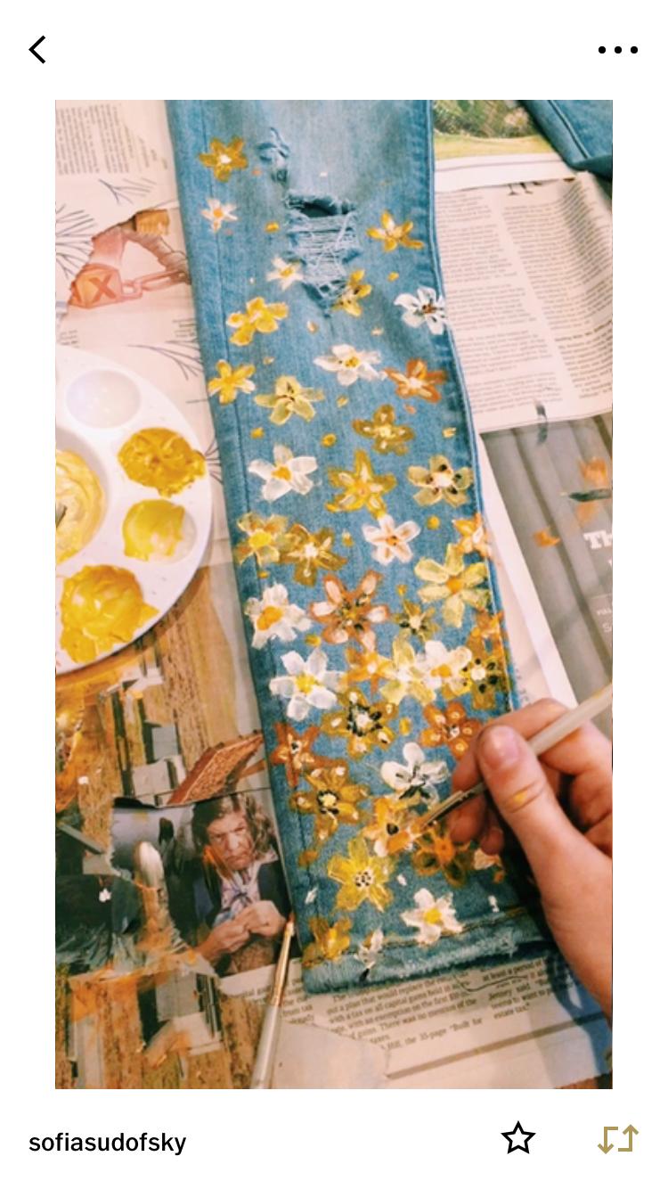 Emmyfaitha Painted Clothes Diy Fashion Diy Clothes