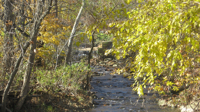 Tom's Creek Carroll Valley Fitness Trail near Gettysburg PA