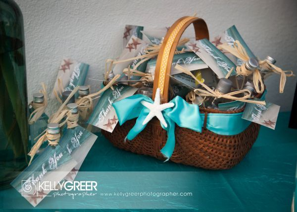 Caribbean Wedding Favor Ideas: Cruzan Rum Mini Bottle Thank You Gifts Design Www