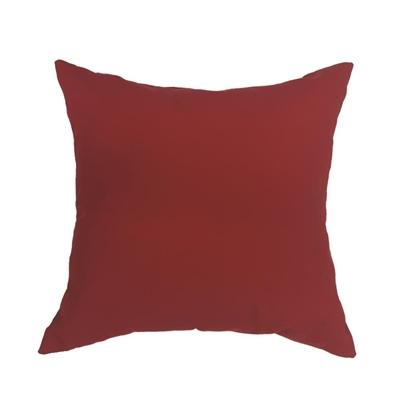 Sunbrella Outdoor Pillow 828989 Red Canvas Cushion Outdoor