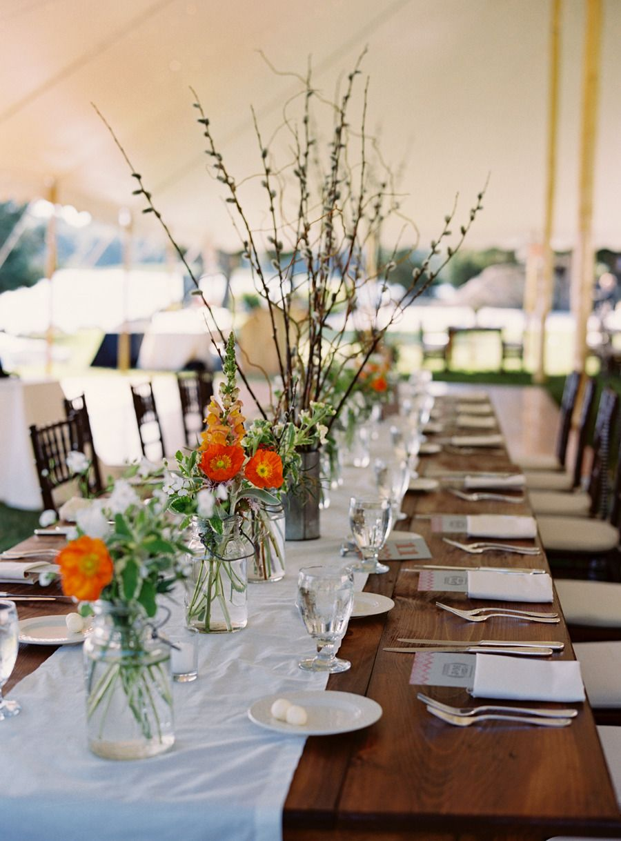Wedding decoration ideas for tables  Bristol Rhode Island Wedding  Island weddings Rhode island and Rhodes