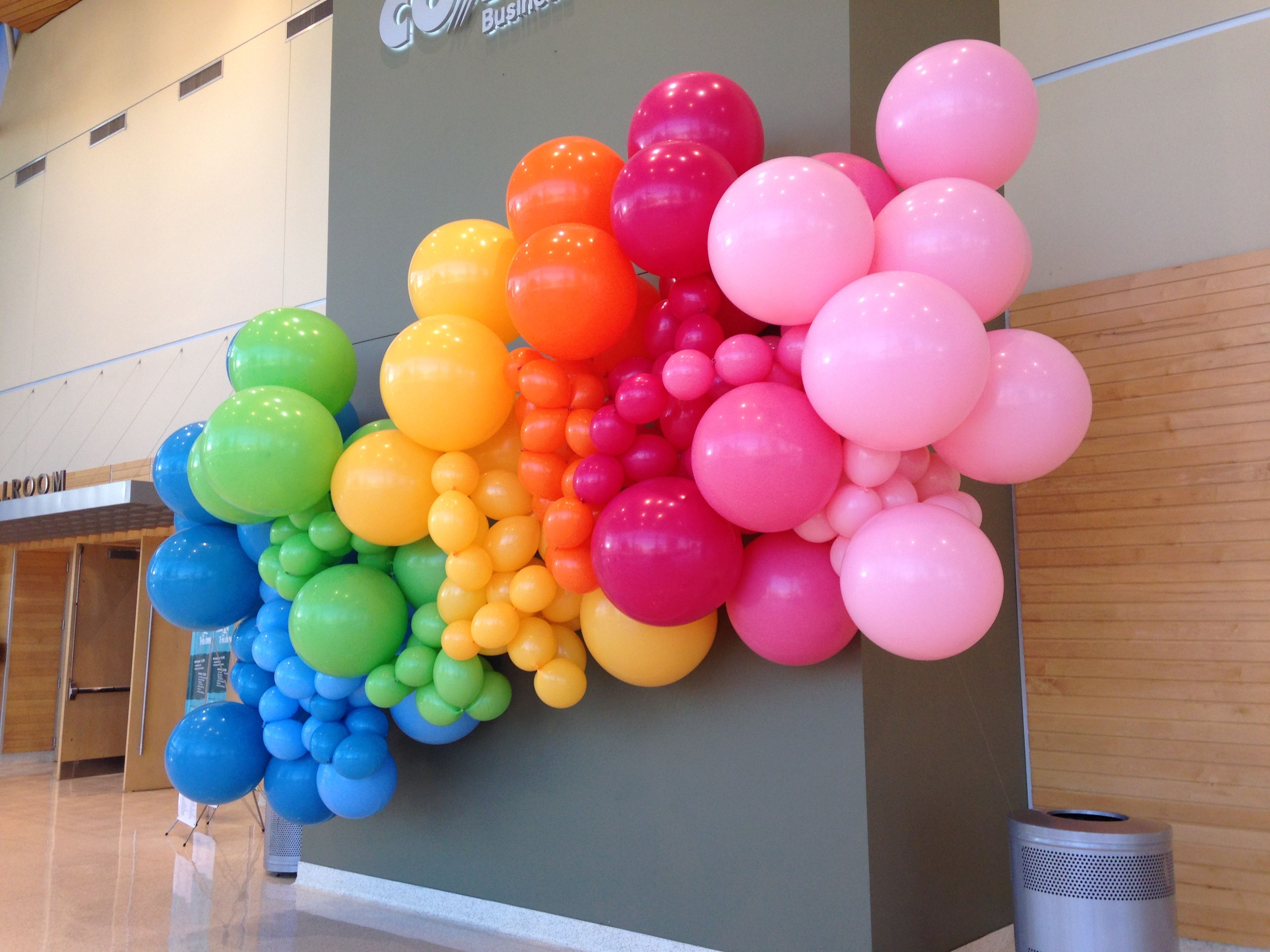 Image result for balloon decoration for kids in wedding party